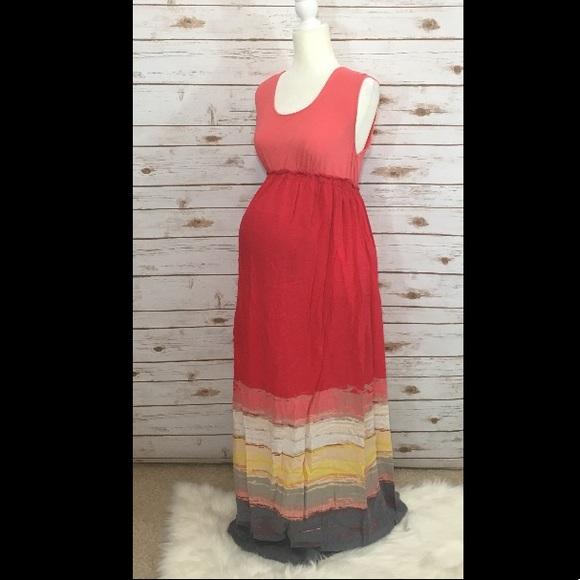 Target Maternity Maxi Dress